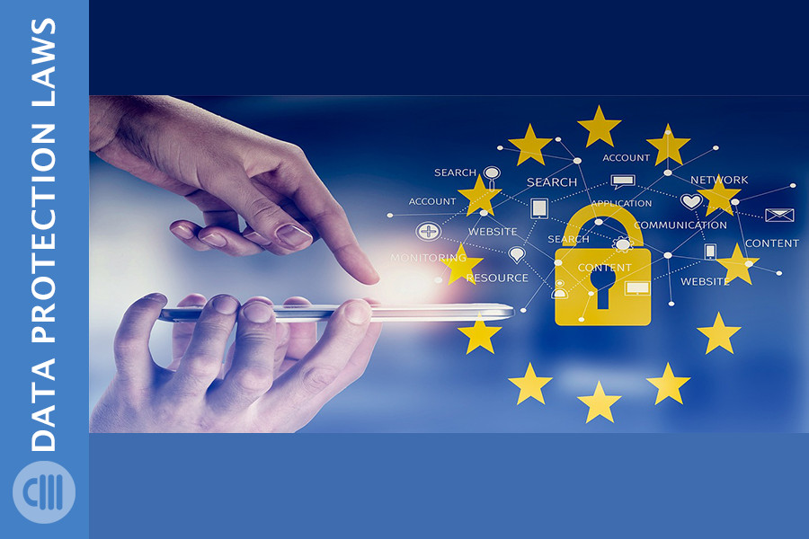 data protection with GDPR and CCPA