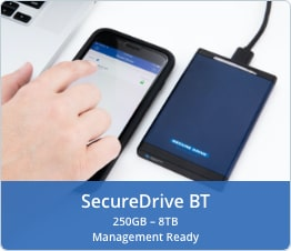 SecureDrive BT Evaluation Management Ready