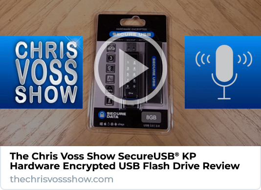 The Chris Voss Show SecureUSB KP Review