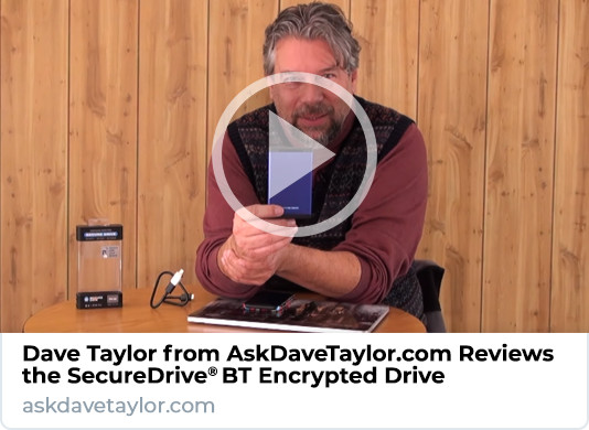 Dave Taylor Reviews SecureDrive BT