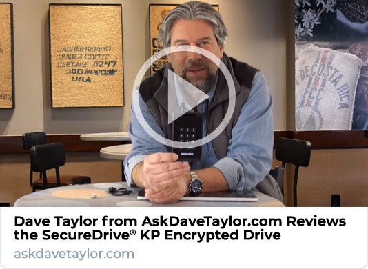Dave Taylor SecureDrive KP Review