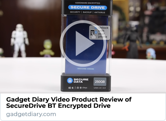 Gadget Diary SecureDrive KP Product Video Review