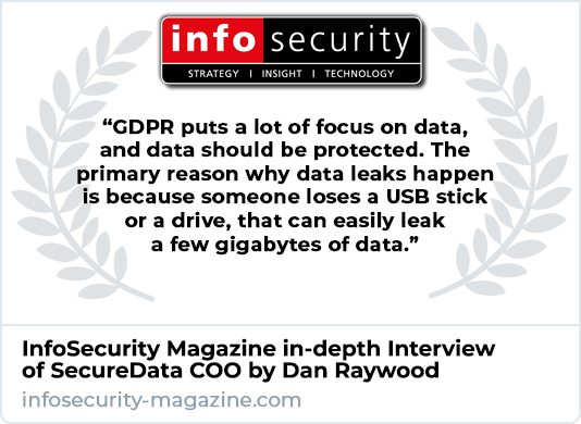 InfoSecurity Magazine Interviews SecureData
