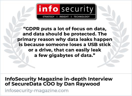 InfoSecurity Magazine Interviews SecureData