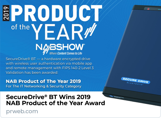 SecureData Wins NAB Show 2019 Product of the Year