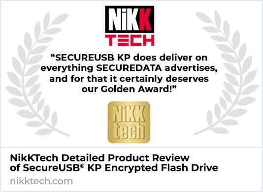 NikKtech SecureUSB KP Flash Drive Review