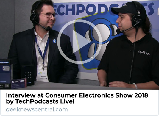 Podcast Interview CES 2018