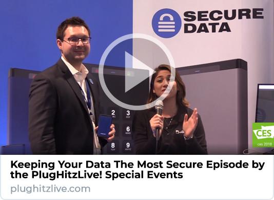 SecureData Interview at CES 2018