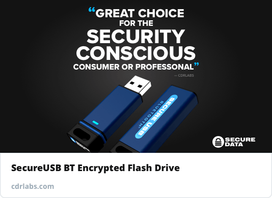 CDRlabs SecureUSB BT review