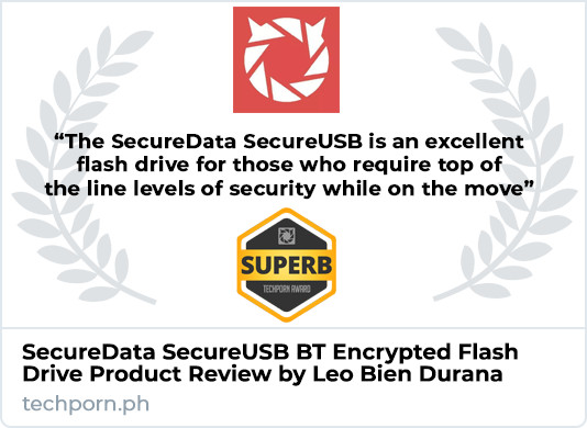 SecureData SecureUSB BT Product Review
