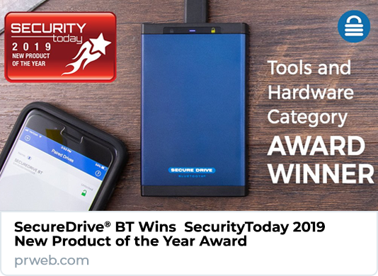 SecureData Wins SecurityToday 2019 New Product of the Year Award