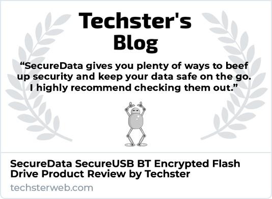 Techster SecureUSB BT Product Review