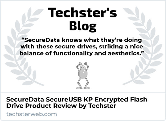 Techster SecureUSB KP Product Review