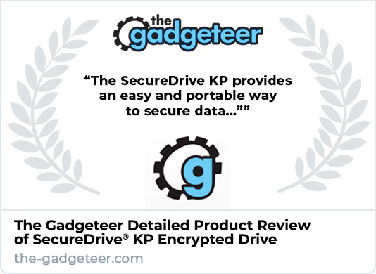 The Gadgeteer Review of SecureDrive KP