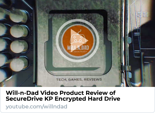 Will-n-Dad SecureDrive KP Product Video Review