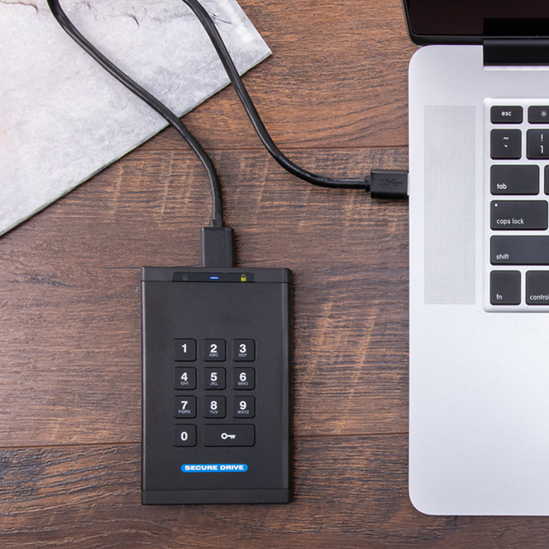 SecureDrive KP - Encrypted External Keypad Drive