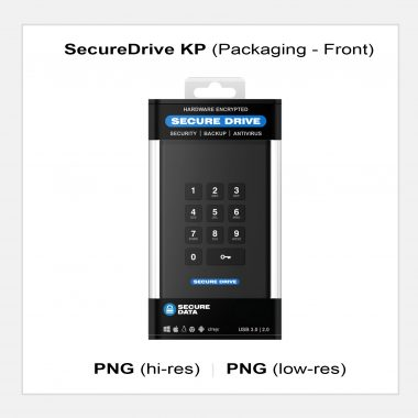 SecureDrive KP - Packaging Front