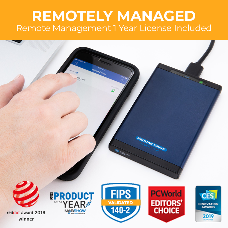 Managed - SecureDrive BT Encrypted Drive