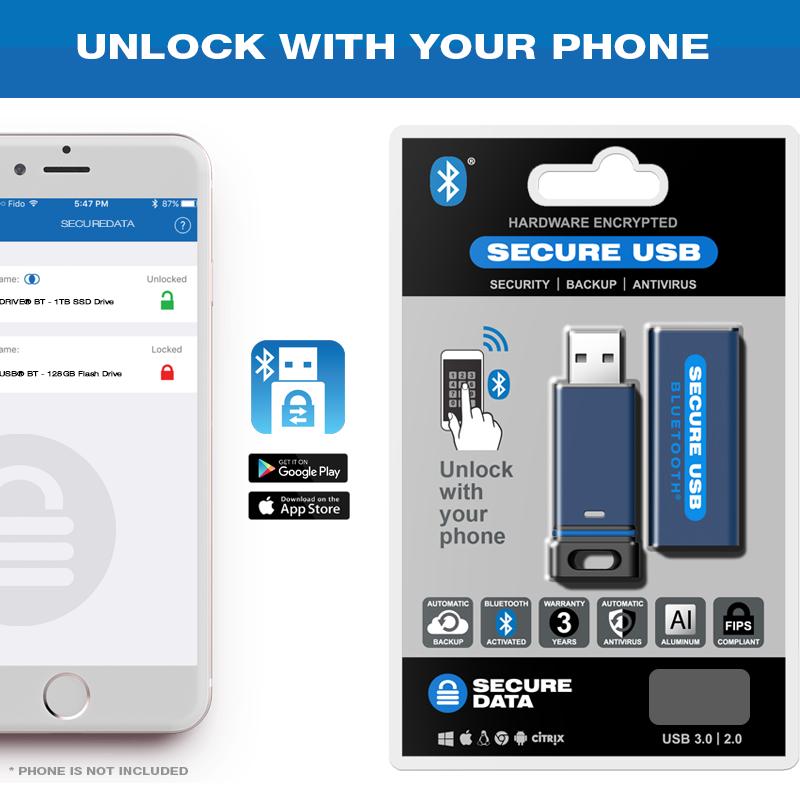 Encrypted Flash Drive