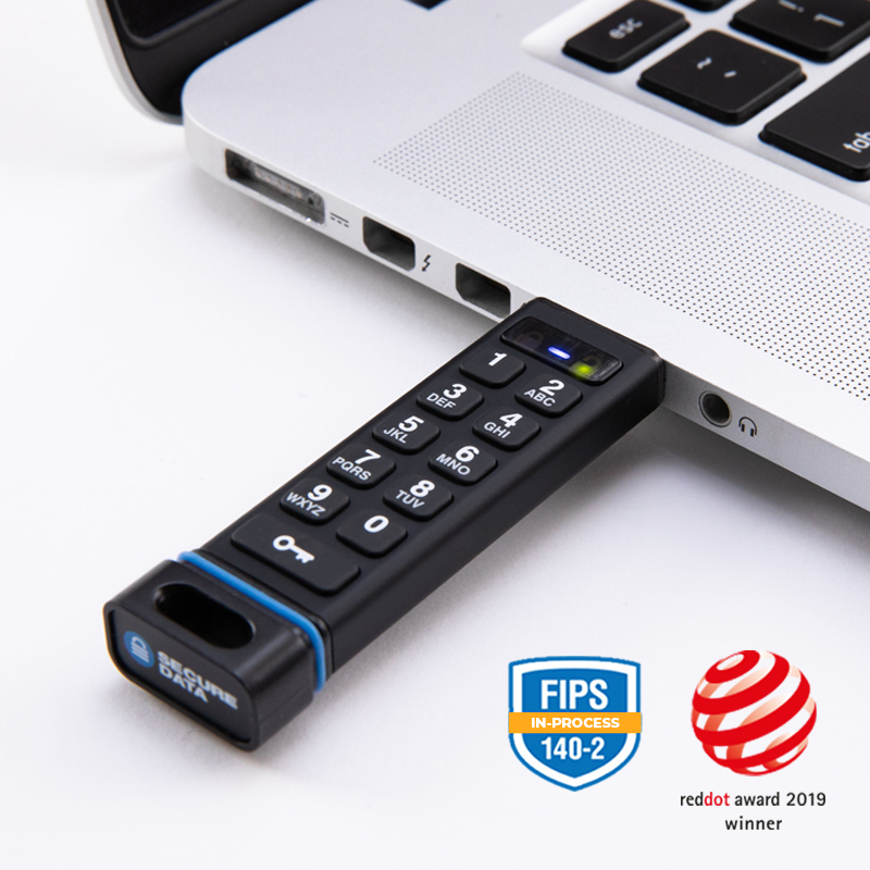 SecureUSB KP - Encrypted Flash Drive