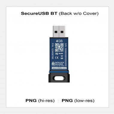 SecureUSB BT - Back w/o Cover