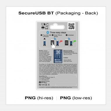 SecureUSB BT - Packaging Back