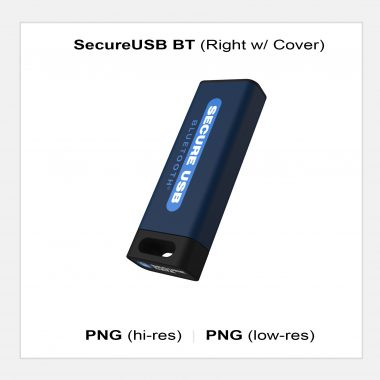 SecureUSB BT - Right with Cover