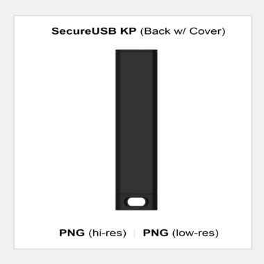 SecureUSB KP - Back w/ Cover