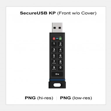 SecureUSB KP - Front w/o Cover