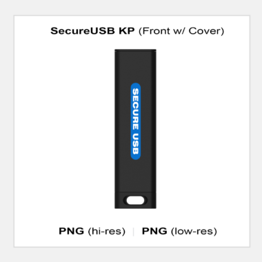 SecureUSB KP - Front with Cover