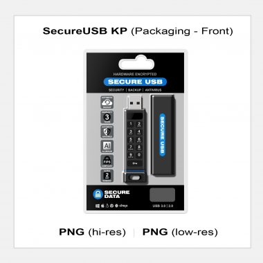 SecureUSB KP - Packaging Front