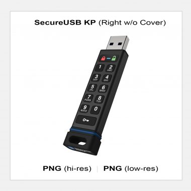 SecureUSB KP - Right no Cover