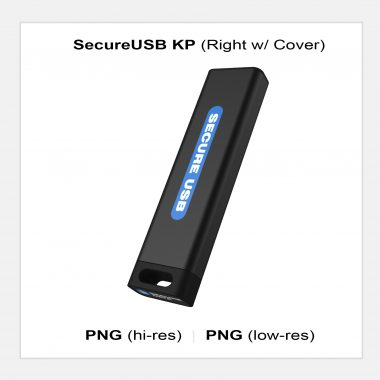 SecureUSB KP - Right w/ Cover