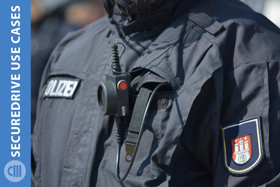 securedrive police video storage