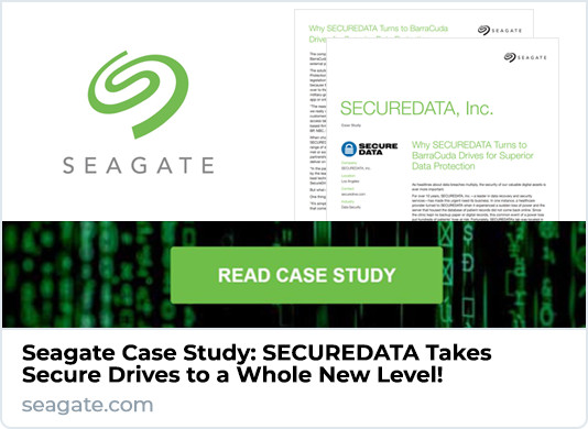 Seagate SecureData Case Study