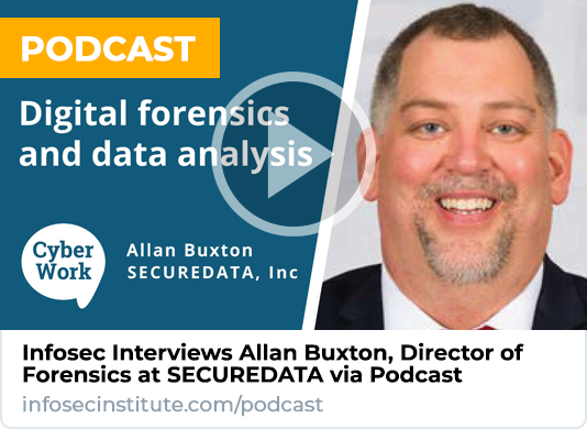 Infosec Interviews SECUREDATA via Podcast