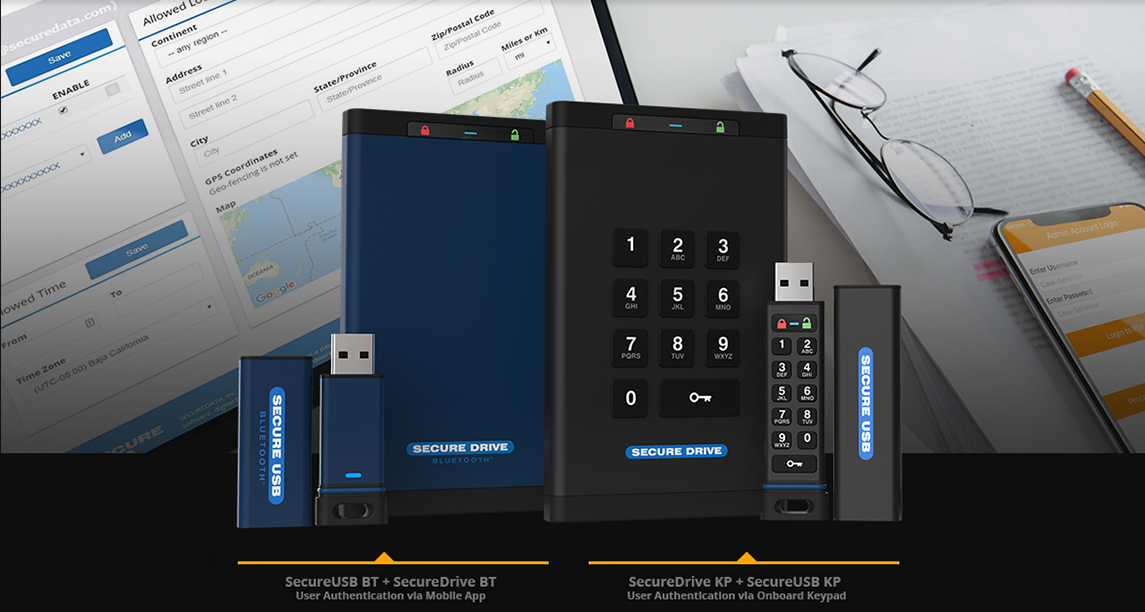 Securedrive Fips Validated Encrypted Hard Drives Usb Flash Drives