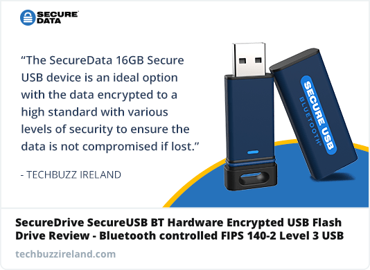 The Securedata Bluetooth 16GB