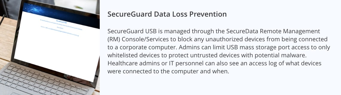 Data Security Solutions for Healthcare - SecureData SecureGuard