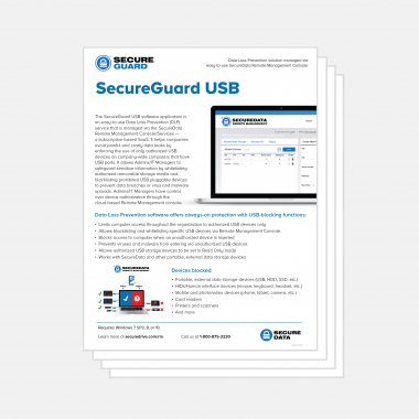 SecureGuard Datasheet