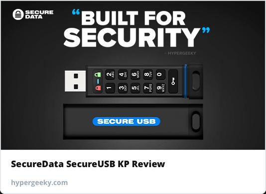 Coded — SecureData SecureUSB KP Review