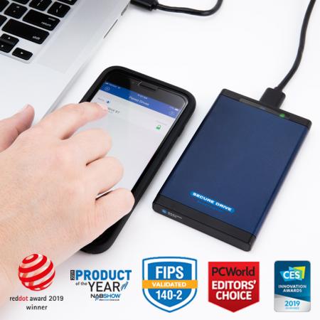 Encrypted Bluetooth External Drive