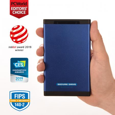 SecureDrive BT Encrypted Hard Drive