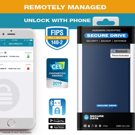 SecureDrive BT Managed