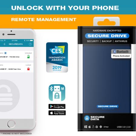 SecureDrive BT - Managed