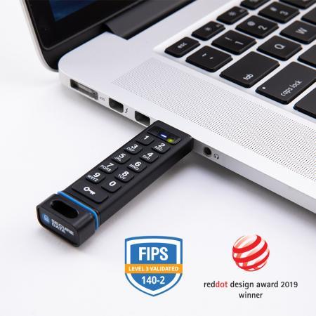 SecureUSB KP - Encrypted Flash Drive