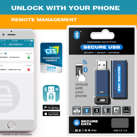SecureUSB BT - Managed